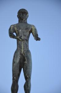 """Staty """"Apollon"""". Konstnär: Roland Haeberlein."""
