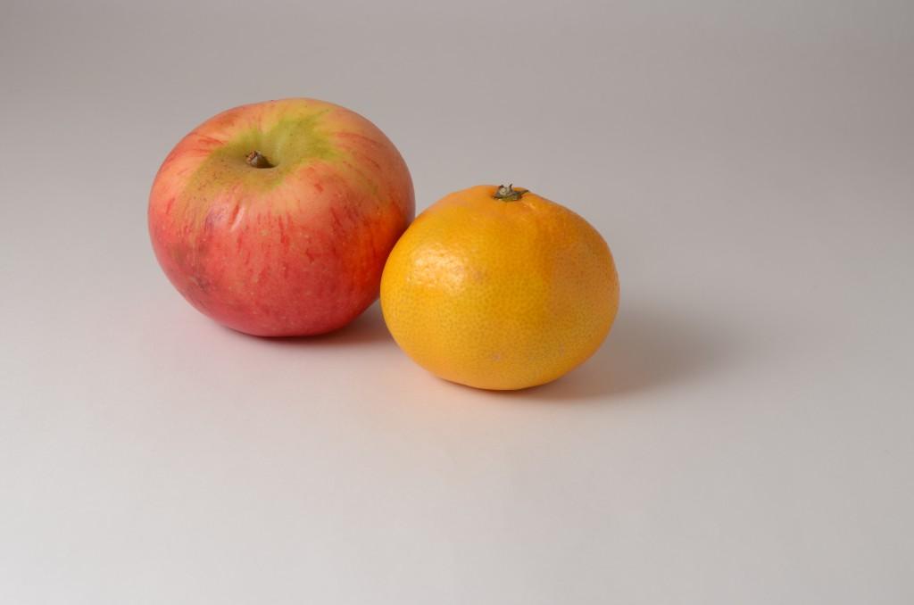 Produktfoto äpple clementin